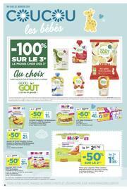 Catalogue Casino Supermarchés en cours, Coucou les bébés, Page 4