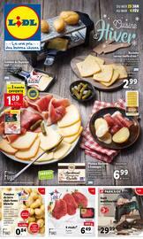 Catalogue Lidl en cours, Cuisine d'hiver , Page 1