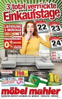 Möbel Mahler Siebenlehn - 3 total verrückte Einkaufstage
