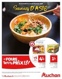 Catalogue Auchan en cours, Saveurs d'Asie, Page 1