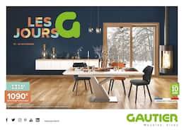 Catalogue Gautier en cours, Les jours G, Page 1
