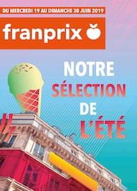 Catalogue Franprix en cours, Notre sélection de l'été, Page 1