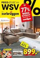 Aktueller Zurbrüggen Prospekt, Preis-Sturz im WSV bei Zurbrüggen, Seite 1