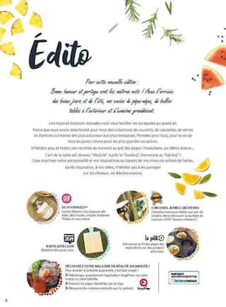 Catalogue E.Leclerc en cours, Collection Table & cuisine , Page 2
