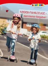 Aktueller BabyOne Prospekt, Kinder-Fahrzeuge - dein kleiner Ratgeber! , Seite 1