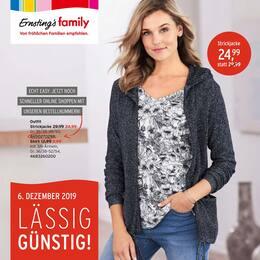 Aktueller Ernsting's family Prospekt, LÄSSIG GÜNSTIG!, Seite 1