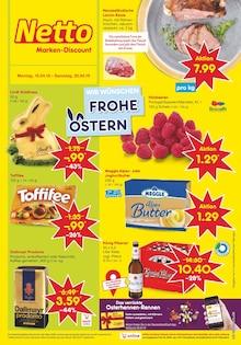 Netto Marken-Discount, WIR WÜNSCHEN FROHE OSTERN für Essen