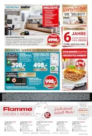 Aktueller Flamme Möbel Prospekt, GROSSER JUBILÄUMSVERKAUF, Seite 8