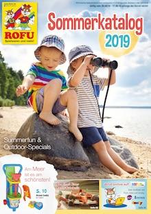 Rofu Kinderland - Sommerkatalog 2019 - Sommerfun und Outdoor-Specials