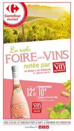 Catalogue Carrefour Market en cours, La seule foire aux vins notée par La revue du vin de France, Page 1