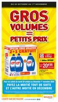 Catalogue Migros France en cours, Gros volumes = Petits prix, Page 1