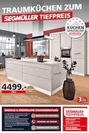 Aktueller Segmüller Prospekt, Traumküchen zum Segmüller Tiefpreis, Seite 1
