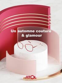 Catalogue Atol Les Opticiens en cours, Un automne couture & glamour, Page 1