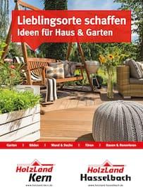 Aktueller HolzLand Kern Prospekt, Lieblingsorte schaffen - Ideen für Haus & Garetn, Seite 1