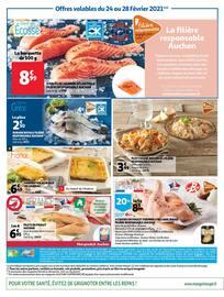 """Catalogue Auchan en cours, """"Notre métier, vous offrir le meilleur"""", Page 4"""