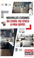 Catalogue Brico Dépôt en cours, Nouvelles Cuisines, du choix, du stock à prix dépôt., Page 1