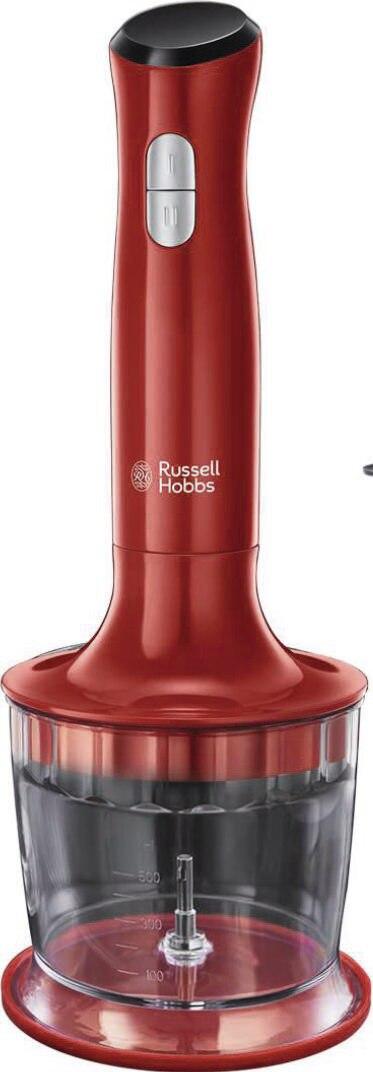 Mixeur plongeant 3 en 1 desire 24700-56 rouge