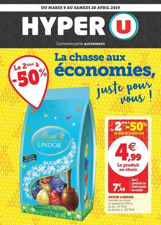 Catalogue Hyper U en cours, La Chasse aux économies,  juste pour vous !, Page 1