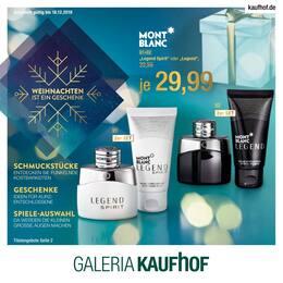 Galeria Kaufhof, Weihnachten ist ein Geschenk für Düsseldorf