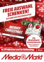Aktueller Media-Markt Prospekt, Freie Auswahl schenken!, Seite 1