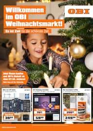 OBI, Willkommen im OBI Weihnachtsmarkt! für Karben