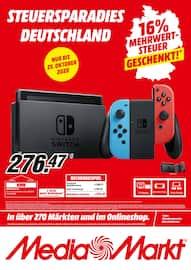 Aktueller MediaMarkt Prospekt, Steuersparadies Deutschland, Seite 1