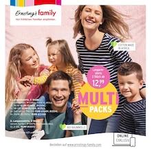 Ernstings family Prospekt mit 16 Seiten (Nützen)