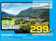 Fernseher von TELEFUNKEN im aktuellen EURONICS Prospekt für 299€