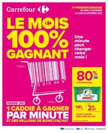 Catalogue Carrefour en cours, Le mois 100% gagnant, Page 1