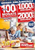 Aktueller Höffner Prospekt, Grosses Jubiläumsfinale - Küchen-Spezial, Seite 1