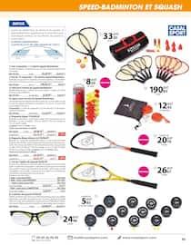 Catalogue Casal Sport en cours, Sports de raquettes, Page 39
