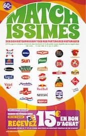 Catalogue Supermarchés Match en cours, Matchissimes spécial 60 ans, des promos et des remises à tire-larigot, Page 2