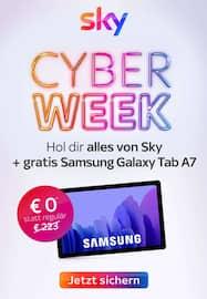 Aktueller Sky Prospekt, SKY Cyber Week - Hol dir alles von Sky, Seite 1