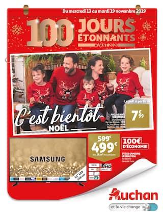 Catalogue Auchan en cours, C'est bientôt Noël, Page 1