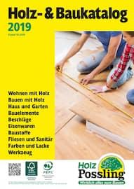 Aktueller Holz Possling Prospekt,  Holz- & Baukatalog , Seite 1