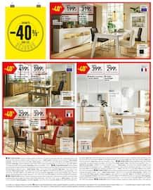 Catalogue Conforama en cours, Offre évènement ! Jusqu'à -50% sur les cuisines, Page 24