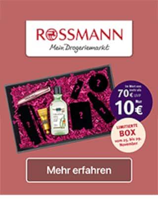 Aktueller Rossmann Prospekt, Limitierte Box, Seite 1