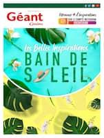 Catalogue Géant Casino en cours, Les Belles Inspirations bain de soleil, Page 1