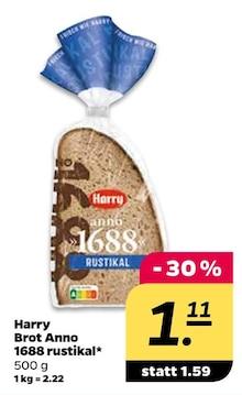 Brot von Harry im aktuellen NETTO mit dem Scottie Prospekt für 1.11€