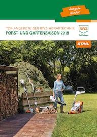 Aktueller Raiffeisen Waren-Zentrale Rhein-Main eG Prospekt, FORST- UND GARTENSAISON 2019, Seite 1