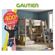 Catalogue Gautier en cours, Le mois du junior, Page 1