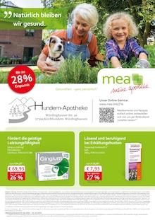 mea - meine apotheke Prospekt für Kirchhundem: Unsere Oktober-Angebote, 4 Seiten, 30.9.2021 - 31.10.2021