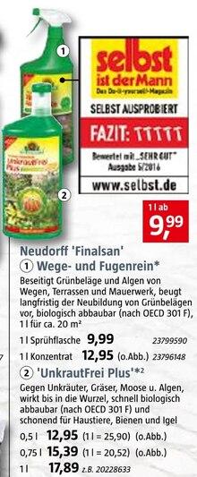 Reinigungsmittel von Neudorff im aktuellen BAUHAUS Prospekt für 9.99€