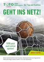 Aktueller Westlotto Prospekt, Der Tipp mit Tradition - Geht ins Netz!, Seite 1