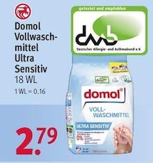 Waschmittel von Domol im aktuellen Rossmann Prospekt für 2.79€