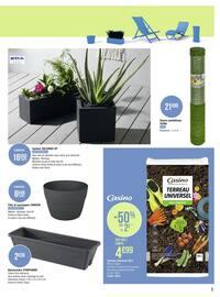 Catalogue Casino Supermarchés en cours, Les belles inspirations jardin, Page 9
