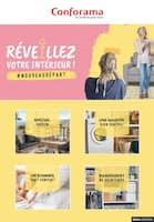 Catalogue Conforama en cours, Réveillez votre intérieur !, Page 1