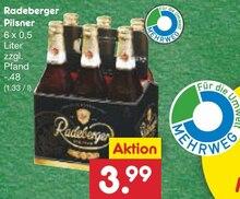 Bier von Radeberger im aktuellen Netto Marken-Discount Prospekt für 3.99€
