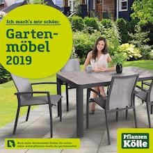 Pflanzen Kölle - Ich mach's mir schön: Gartenmöbel 2019