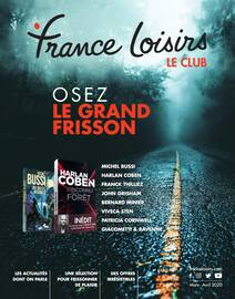 Catalogue France Loisirs en cours, Osez le grand frisson, Page 1
